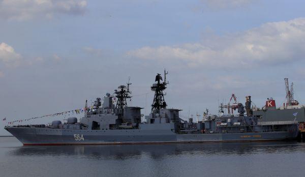 俄军舰访菲 距美使馆仅1公里