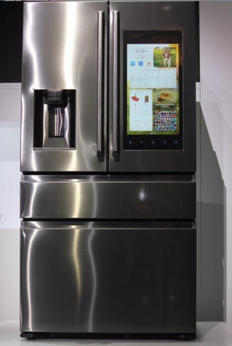 三星冰箱Family Hub2.0颠覆传统 实现家庭展示墙