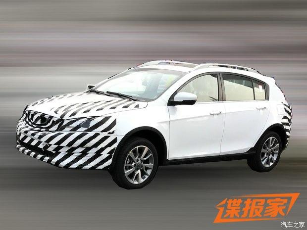 1.4T动力 吉利新款帝豪RS谍照曝光-新车