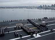 美航母起航目标西太平洋