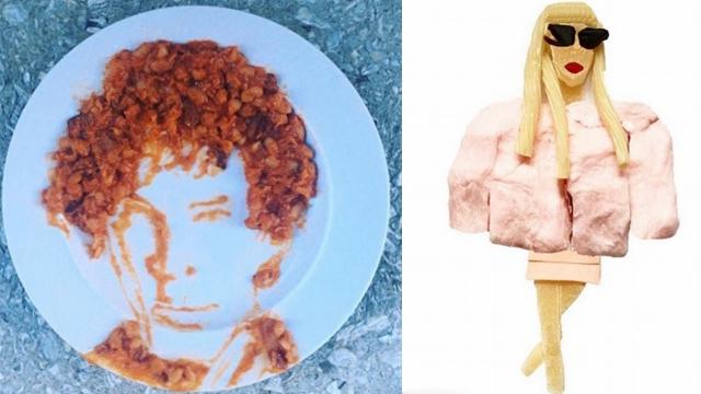 """精巧!纽约艺术家""""施魔法""""将食材变成艺术品"""