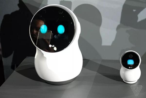 喜感爆棚!LG Hub Robot机器人管家图赏