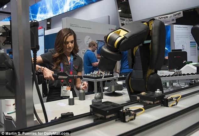 2017CES:拥有智能皮肤的机器人你见过吗?