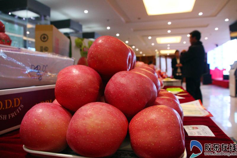 烟台苹果在京推介 以果为媒红遍京城