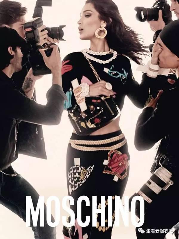 Moschino 2017春夏系列广告大片