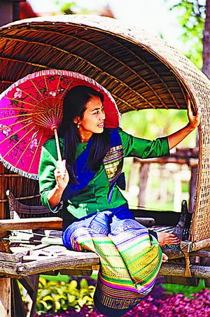 丝绸藏木屋,见证泰国变迁