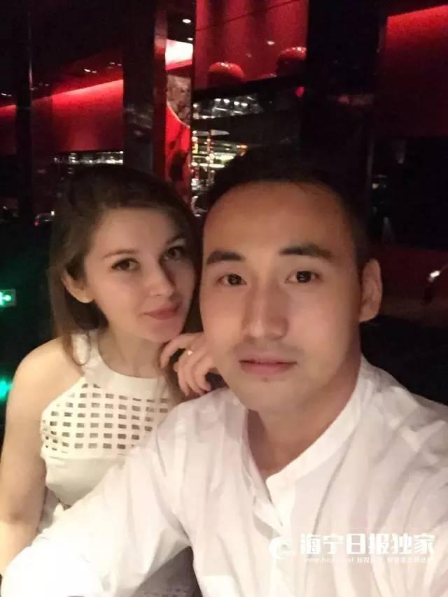 浙江一厨师迎娶乌克兰美女 颜值爆表
