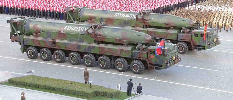 韩媒:朝鲜洲际导弹可移动发射 美韩难以监视