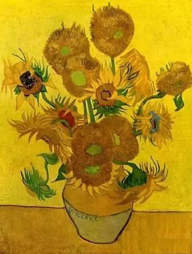 梵高作品《向日葵》-看西方绘画史 却安利了这些名贵珠宝