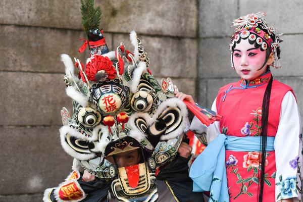 中国文化在国外 爱尔兰开启春节庆祝活动