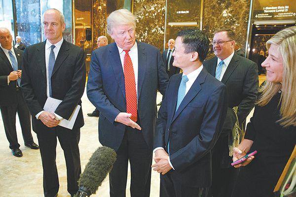 """马云/马云见特朗普引诸多联想日网民吐酸水""""有不良预感""""3小时前..."""
