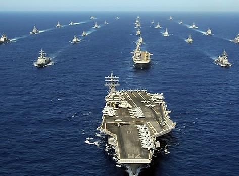 重掌海洋霸权!美军欲扼控全球关键海域遏制中俄