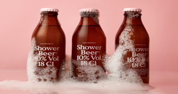 瑞典啤酒厂推出淋浴啤酒 让你边淋浴边畅饮啤酒