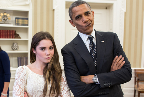 奥巴马御用摄影师揭秘总统另一面
