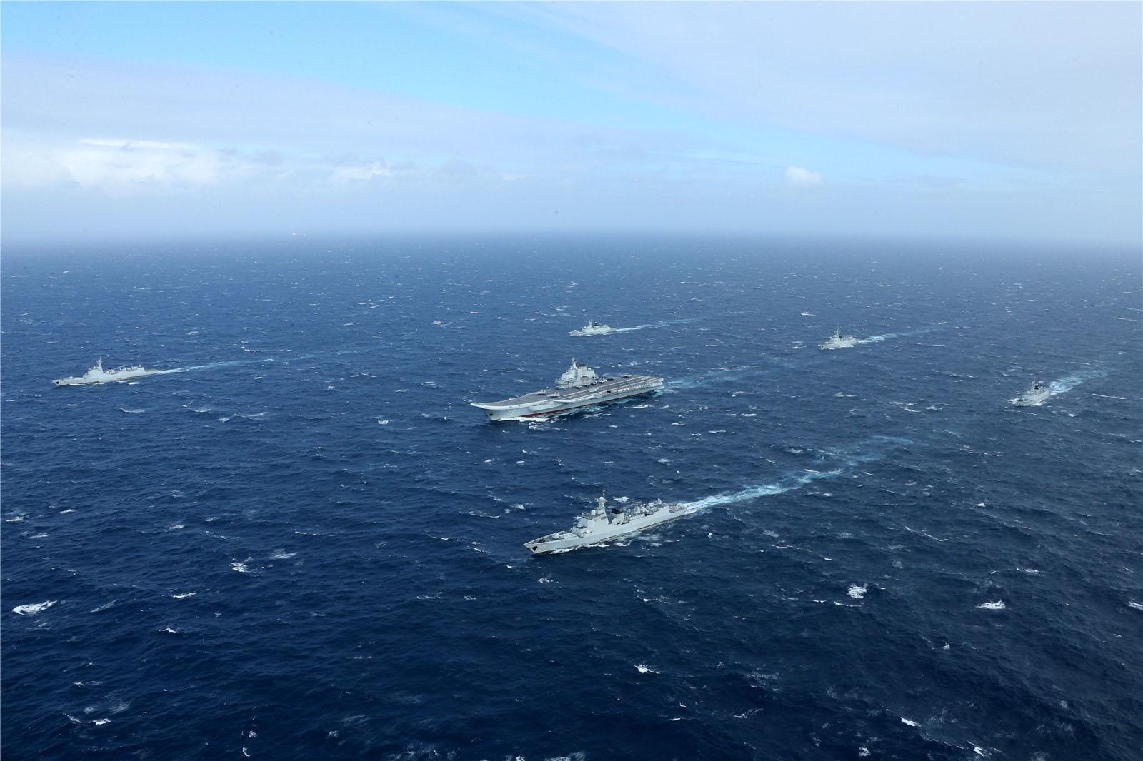 辽宁号航母穿越台湾海峡恫吓蔡英文?国台办回应