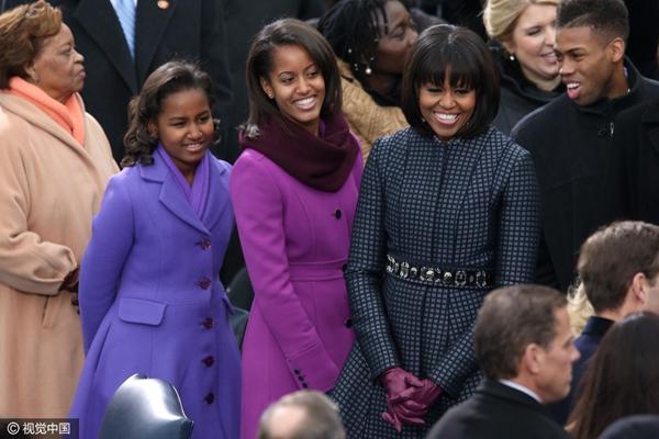 """奥巴马即将离任 记录美国""""第一女儿""""白宫成长史"""