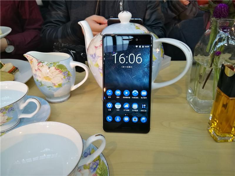 诺基亚回归中国第一款安卓机 诺基亚6现场图赏