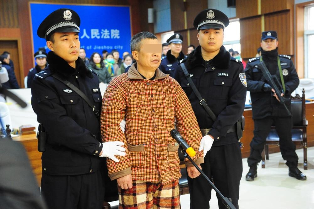 安徽一男子持刀连杀三人 被判死刑后大哭