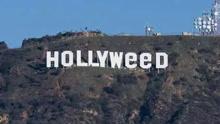 好莱坞巨型标志遭恶搞