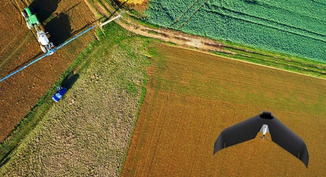 无人机上天 污染源落地