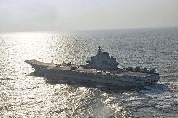 侠客岛:辽宁舰穿越台湾海峡背后有几重警告?