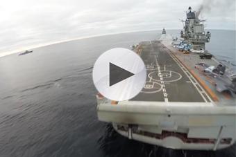 俄军航母出战叙利亚历程回顾