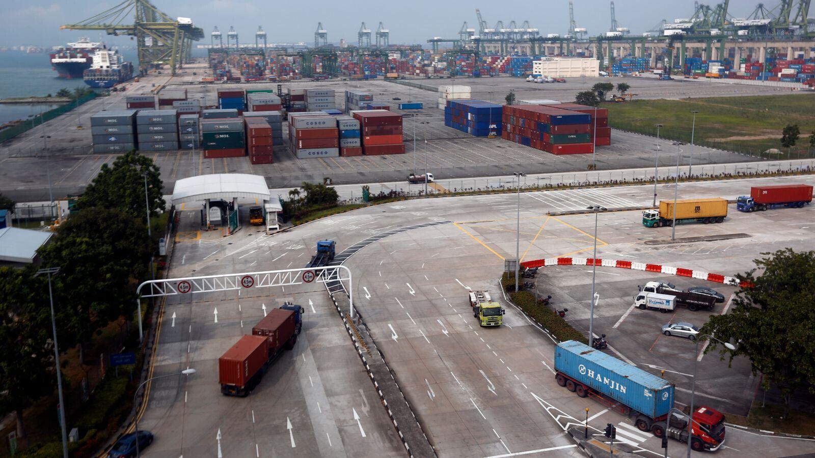 无人驾驶运货卡车未来将现身新加坡港口