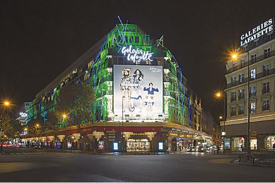 巴黎旅游区名店周日正式营业