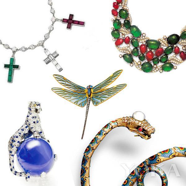 这个20世纪古董珠宝盒里 藏着欧洲贵妇的绝代风采