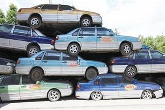 浦东警方借助无人机查获17辆克隆出租车