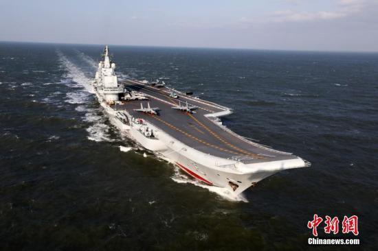 中国航母编队成军之路:舰载机起降训练上千次