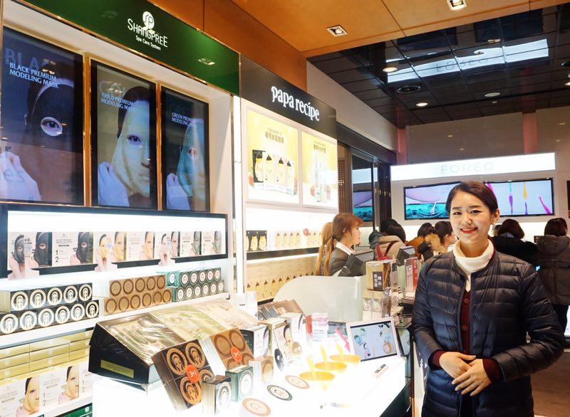 韩国化妆品香蒲丽成功入驻首尔新罗免税店