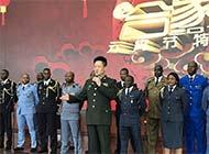 各国外军学员齐唱中国军歌