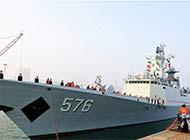 被日称绕日航行中国舰队返航