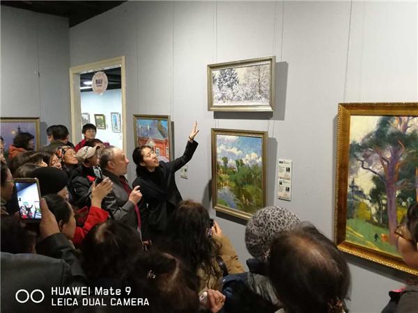 艺凝风情——俄罗斯油画、雕塑迎春展