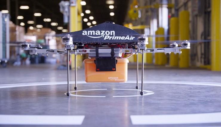 亚马逊寻求无线测试批准 或将用于无人机送货