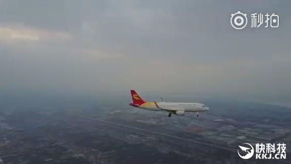 无人机恐怖近距离拍客机引众怒