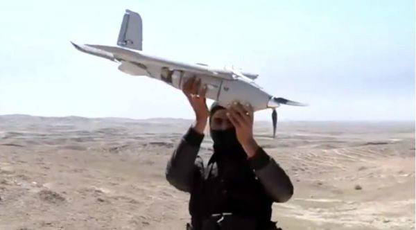 IS改装商用无人机投放炸弹