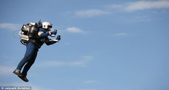 JetPack Aviation推商用飞行包 与美军签署协议