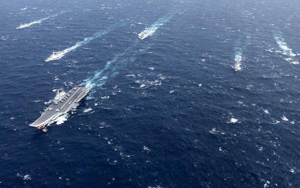 日媒:辽宁舰过台海不必恐慌 美航母过了好几次