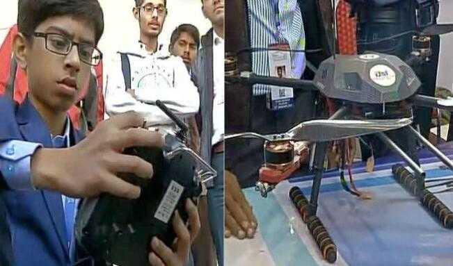 印度14岁神童研发扫雷无人机 拿下政府500万合约