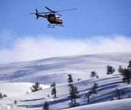 新疆阿尔泰山野雪公园正式开滑 雪友趋之若鹜