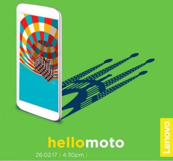 联想证实Moto G5 Plus将在MWC亮相