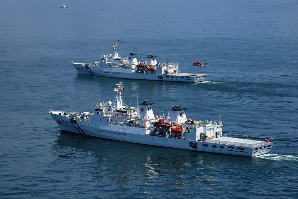 台连续两天用水炮攻击大陆渔船 叫嚣要搞大扫荡