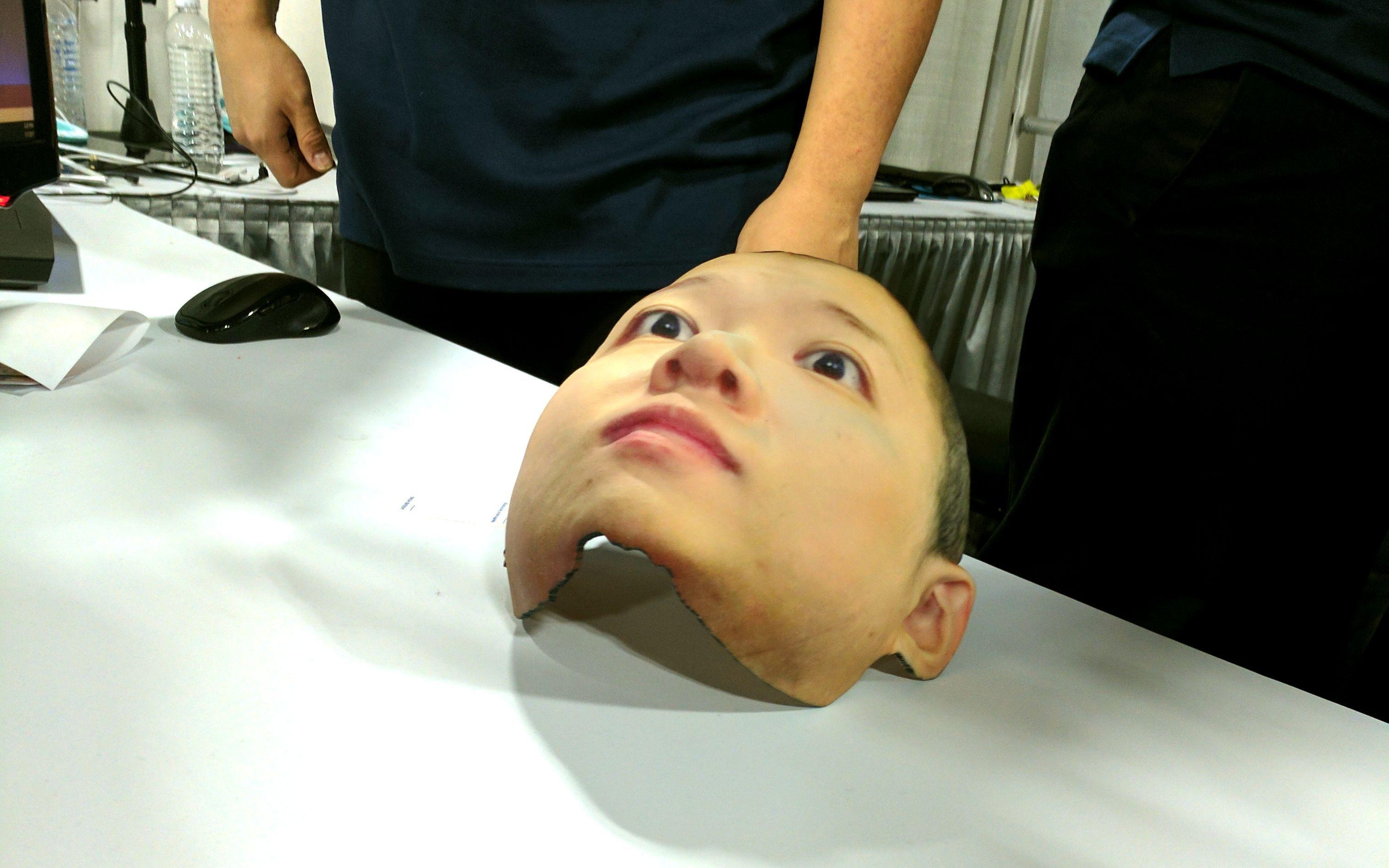《西部世界》来了!3D照相技术打印同款人脸