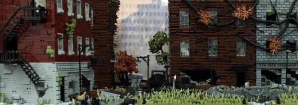 玩家用乐高打造《最后生还者》场景 耗费2万块积木