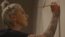 美艺术家人用9升人血作画反川普