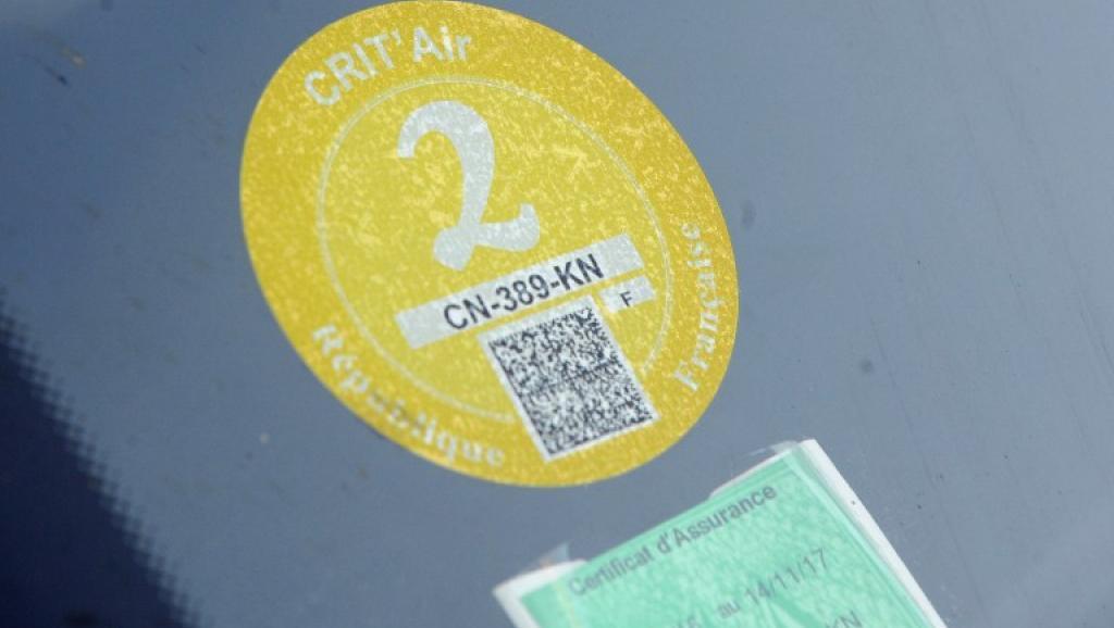 """巴黎16日起车辆必贴""""排气""""标签 罚款可达135欧"""