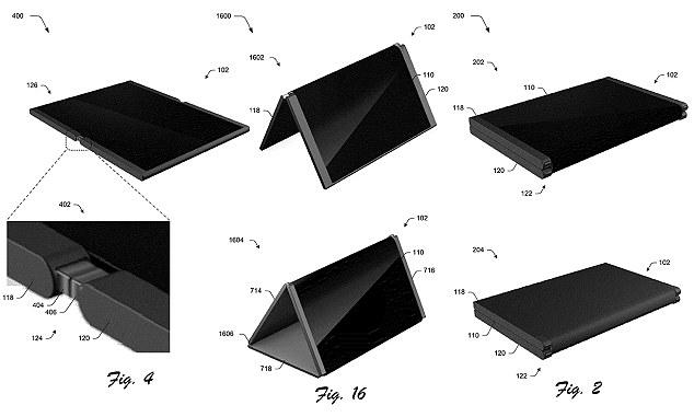 微软正研发新折叠手机 展开变为平板电脑