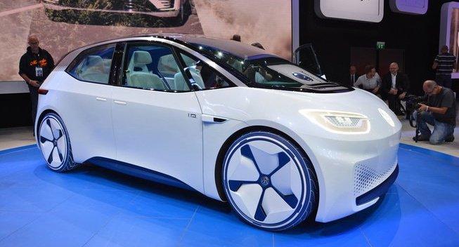 大众2017年将发布多款I.D.电动概念车